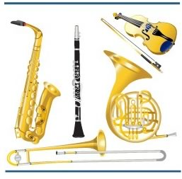 Ann's Music World instruments