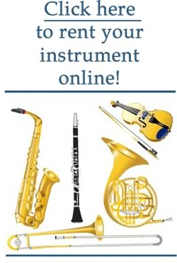 Rent your instrument from Ann's Music Online Store