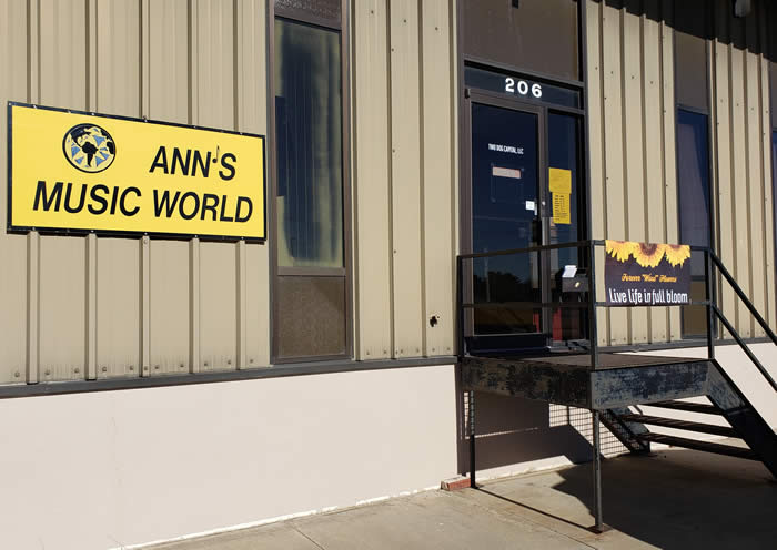 Ann's Music World at 206 E. Grant Street Papillion Nebraska